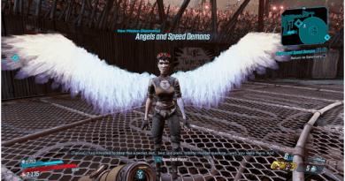 Borderlands 3 Angels and Speed Demons Mission