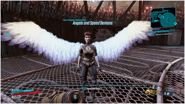 Borderlands 3 Angels and Speed Demons Mission