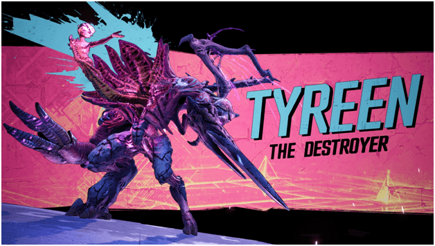 Borderlands 3 Tyreen the Destroyer Boss