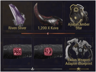 Requiem Mods, Riven Slivers and Weapon Exilus Slots