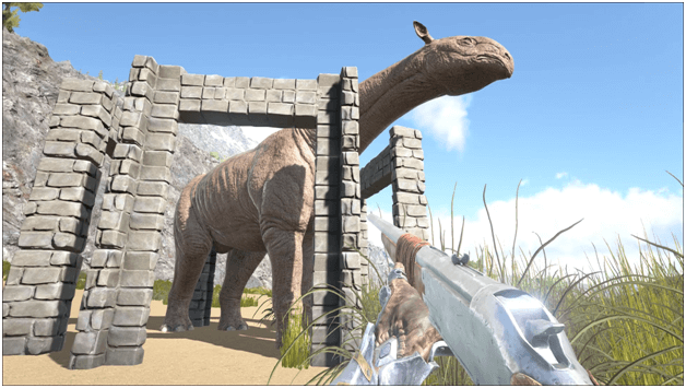 Ark Paraceratherium Guide Taming Food Saddle Breeding Drops Location Progametalk Ark daeodon guide (how to tame, drops, food, location…) the daeodon has a large maw which it uses for fighting as well as eating the large quantities of meat that it needs to replenish its health. ark paraceratherium guide taming food