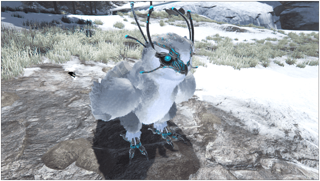 Ark Snow Owl