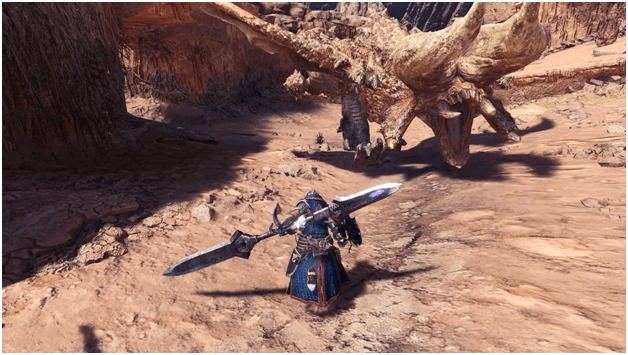 Horned Tyrant Below the Sands mhw mission