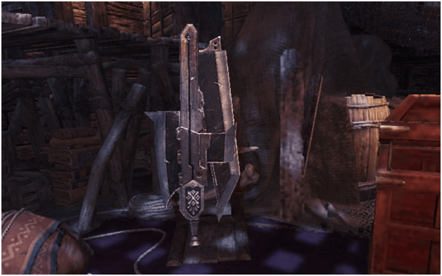 Improved Steel Axe mhw weapon