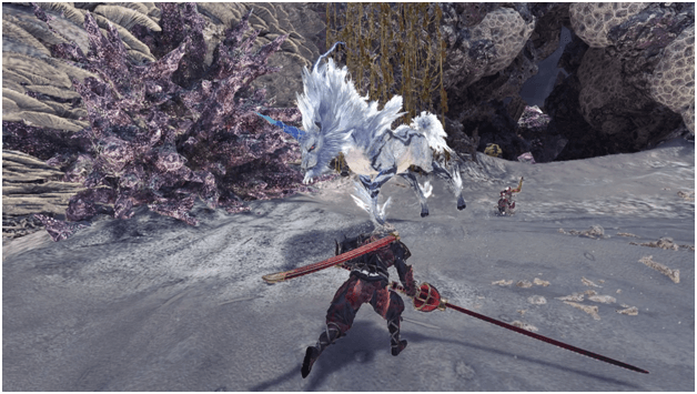 Gone in a Flash mhw optional quest