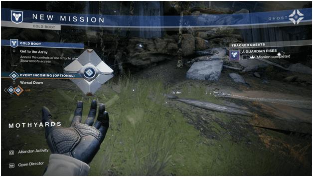 Destiny 2 Advent Mission