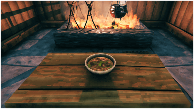 Valheim cook serpent stew