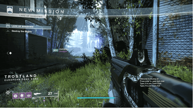 Destiny 2 Lake of Shadows Strike