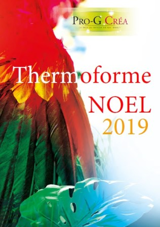 Déco thermoformé Noël