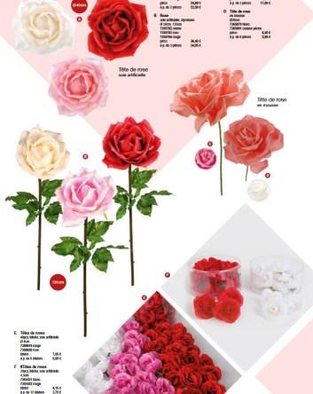 Déco rose pour la saint valentin