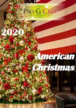 Sapin de Noël américain