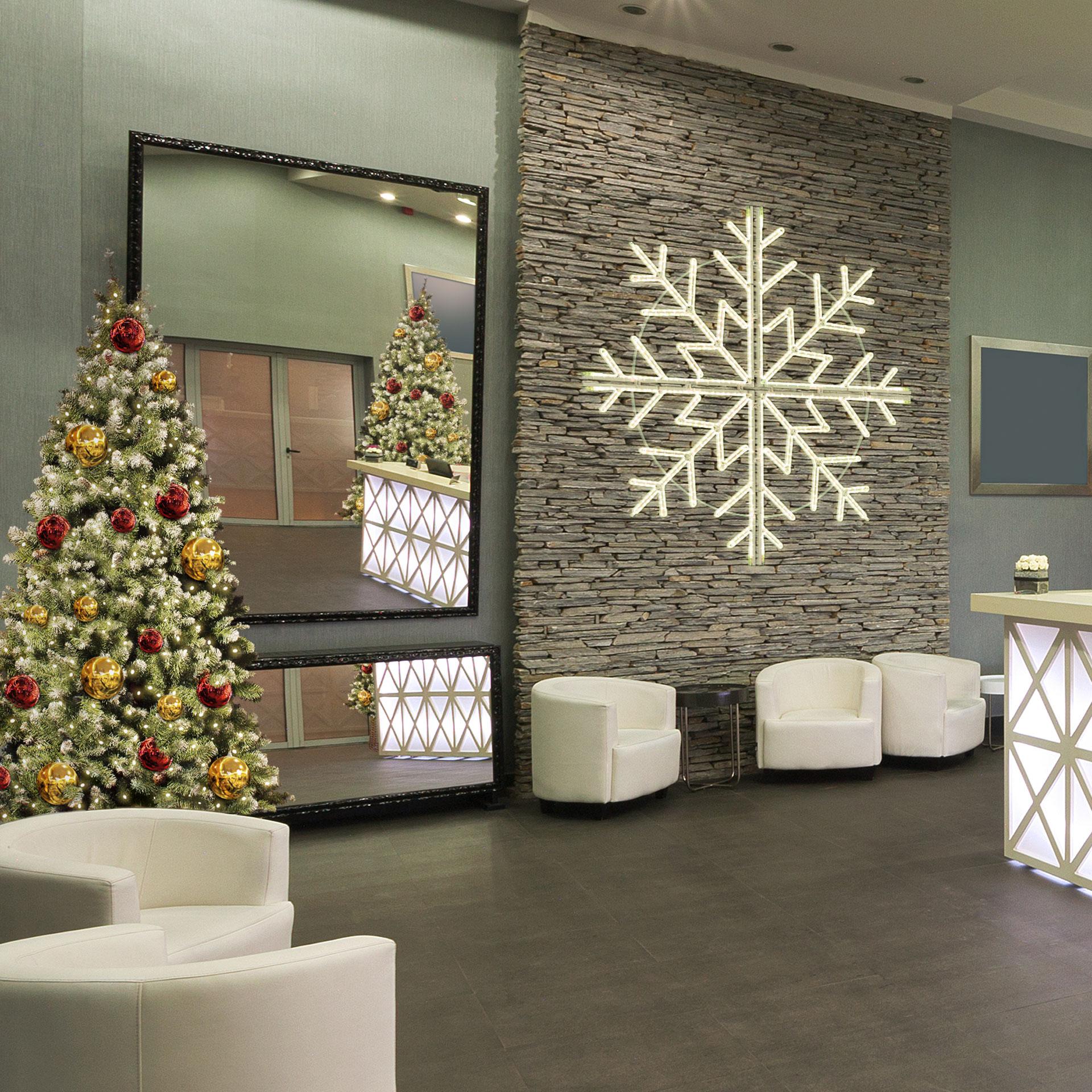 décoration Noël hôtel