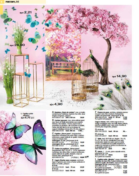 Pro-G Crea - Décoration cerisier japon