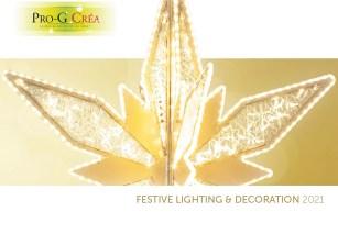 Pro-G Créa - Catalogue Illuminations de Noël 2021