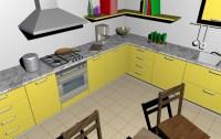 Render køkken