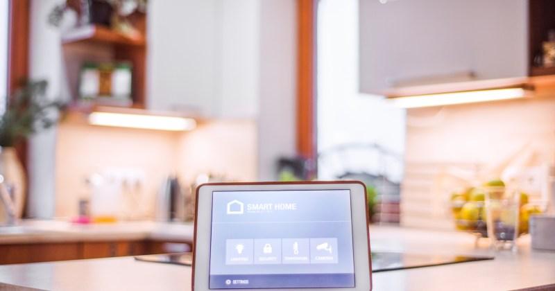 Un esempio di device da cui l'utente può interagire con la propria abitazione