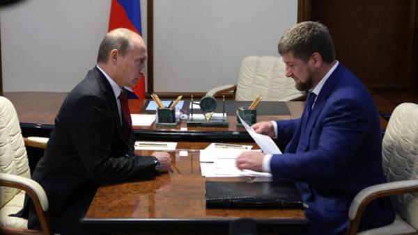 putin kadyrov - government-ru-2