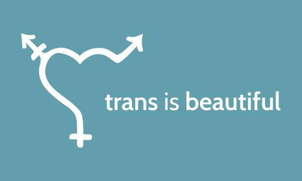 trans is beautiful