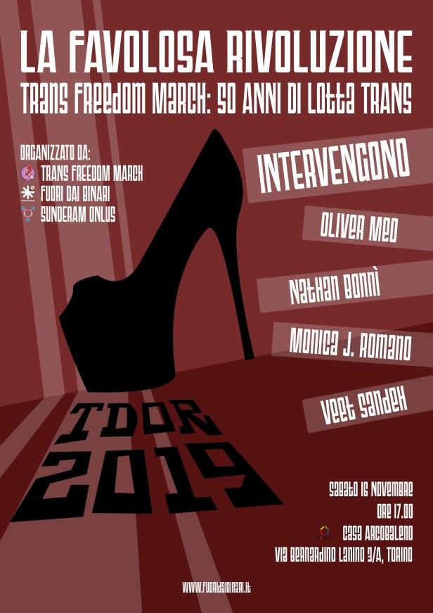 trans freedom march torino 2019