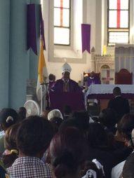Mons. Pierre-André Dumas, Vescovo di Anse-à-Veau-Miragoâne,