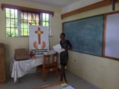 Presentazione di un allieva insegnante