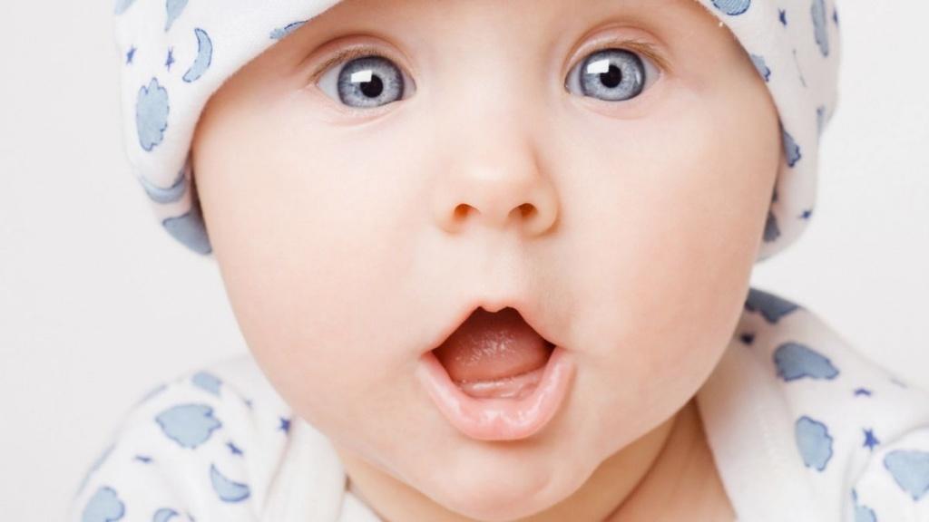 Enfant couleur oeil