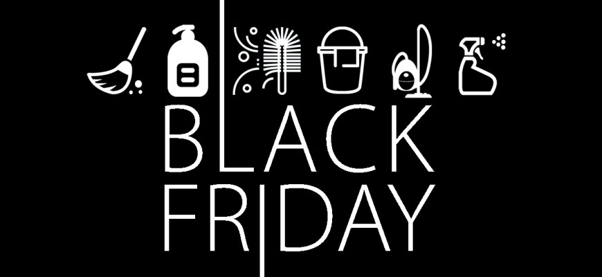 Black Friday deals Cleaning Services 2019