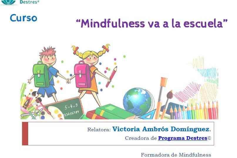 Mindfulness va a la escuela