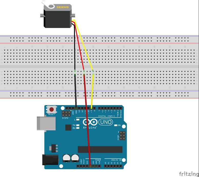 Conexion servomotor con Arduino