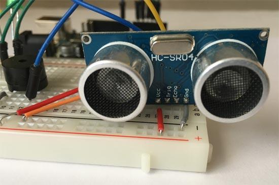 sensor ultrasonidos