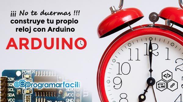 Reloj con Arduino