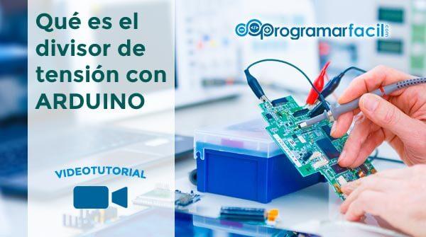 Divisor de tension con Arduino