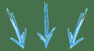 flechas azules - Electrogeek