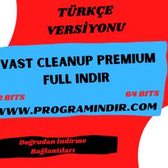 Avast Cleanup Premium Full Indir
