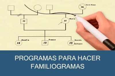 Programas para hacer Familiogramas Gratis