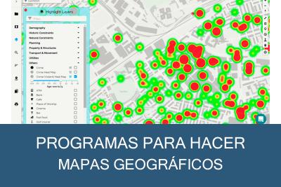 Programas para hacer Mapas Geográficos Gratis