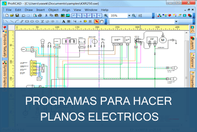 Programas para hacer Planos Eléctricos Gratis