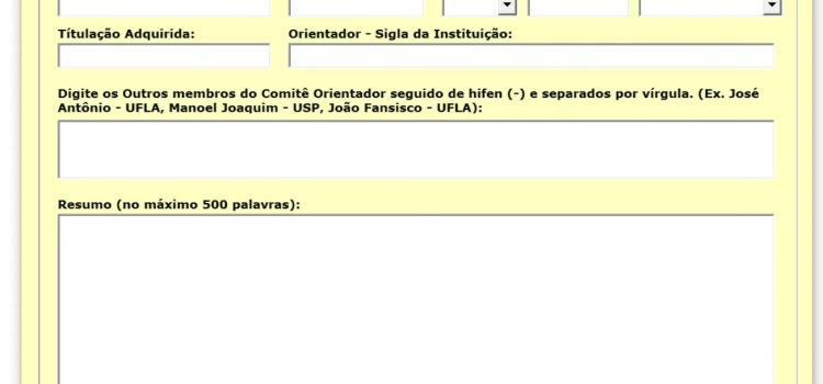 Formatação Resumo TCC