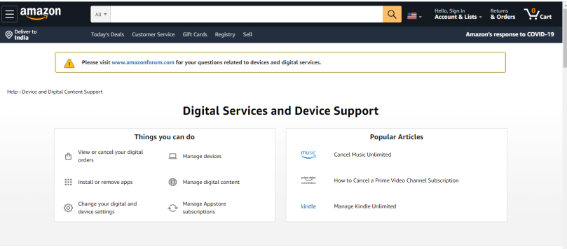 Some of the methods to prevent Amazon Digital Charges