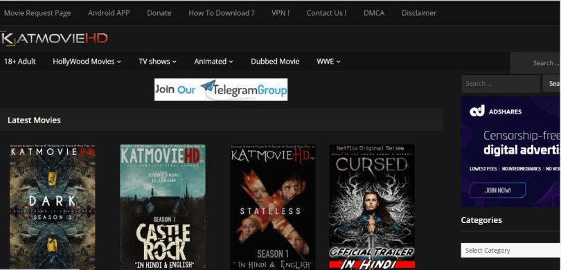 Katmoviehd 2020 – Free Download All Movies, TV Series In Hindi and English