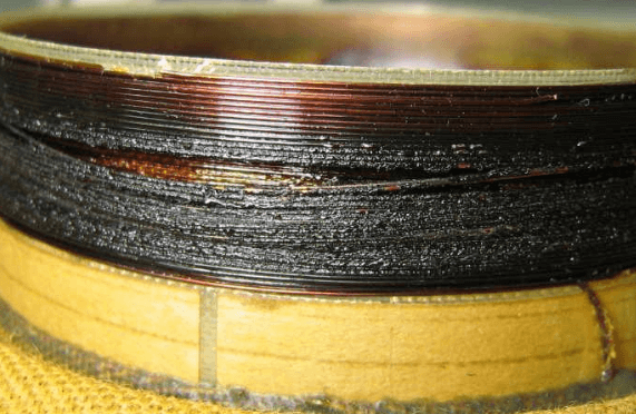 Failure in Flexible wire of Speakers