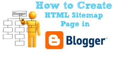 How to create a sitemap for blogger blog