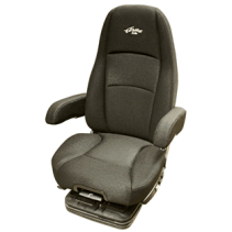 Black Atlas II DLX Semi Truck Seat