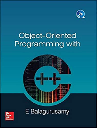 Object Oriented Programming in ANSI C by Balaguruswamy PDF Download
