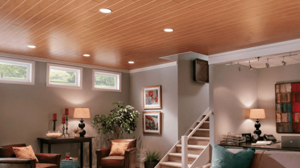 Support your beams with Wood Paneling