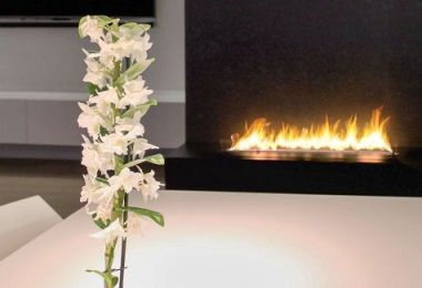 Bioethanol fireplaces: How to incorporate them in the design?