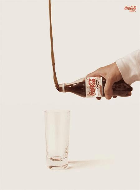 Coca tres light - Programmatique