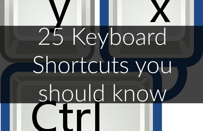 Life Hack - Really cool Shortcuts to save time and improve your Workflow