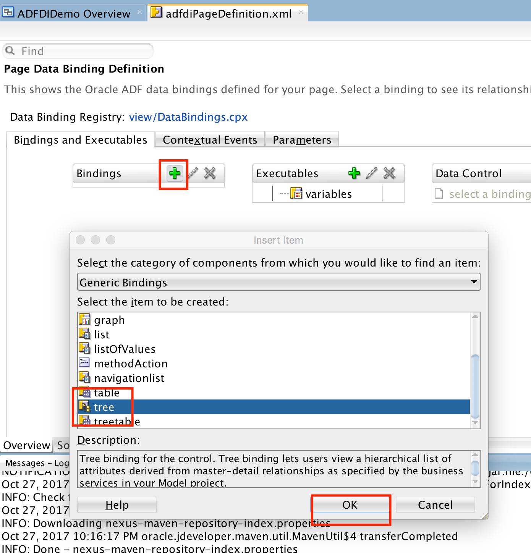 How To Prepare Adf Desktop Integration Adfdi Bindings To