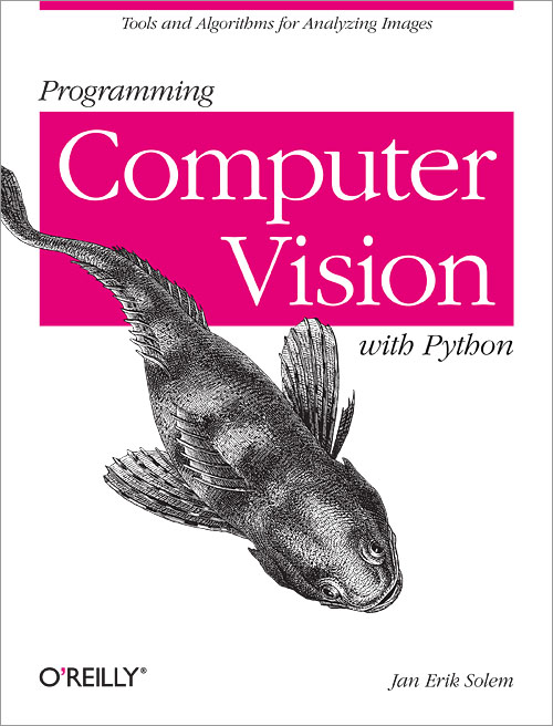 Book cover: Programming Computer Vision with Python